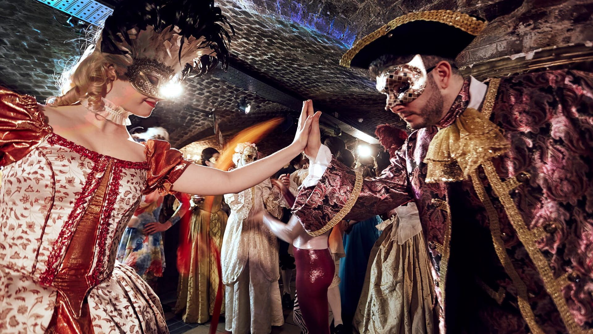 Interactive Theatre at Ivory Vaults