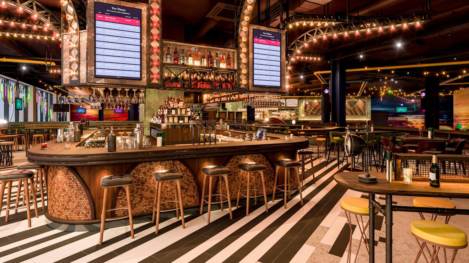 Bar at Puttshack