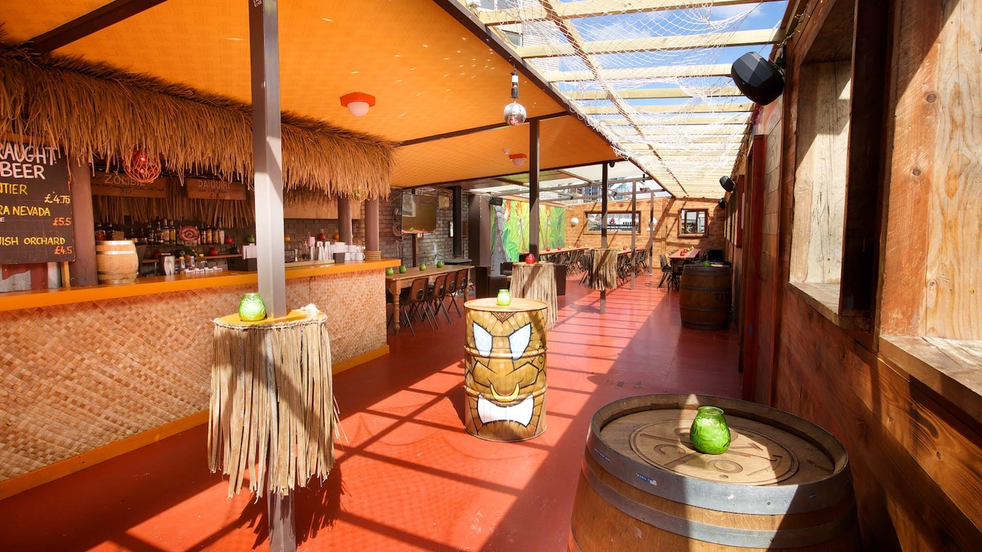 Rum rooftop bar