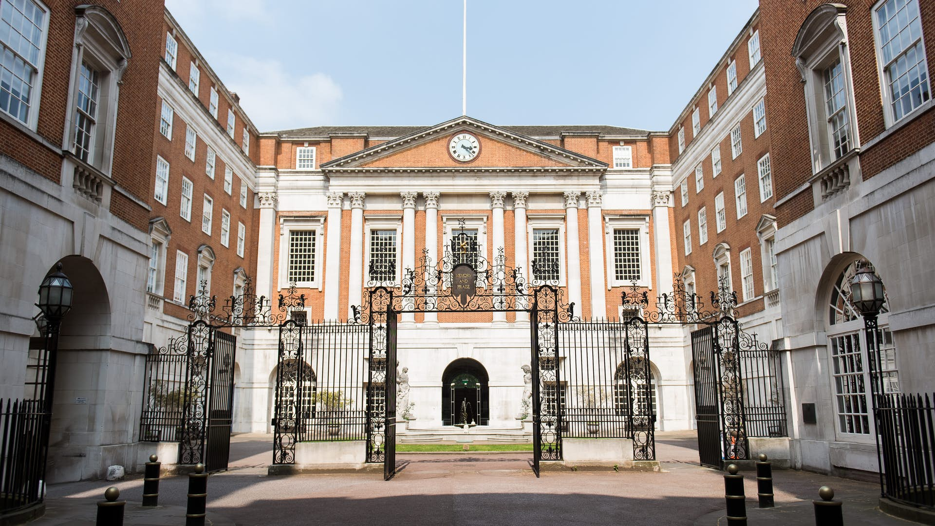 Gates of BMA House