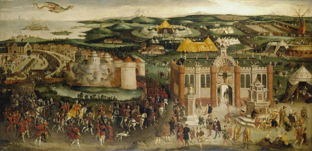 """The Field of the Cloth of Gold"" c. 1545"