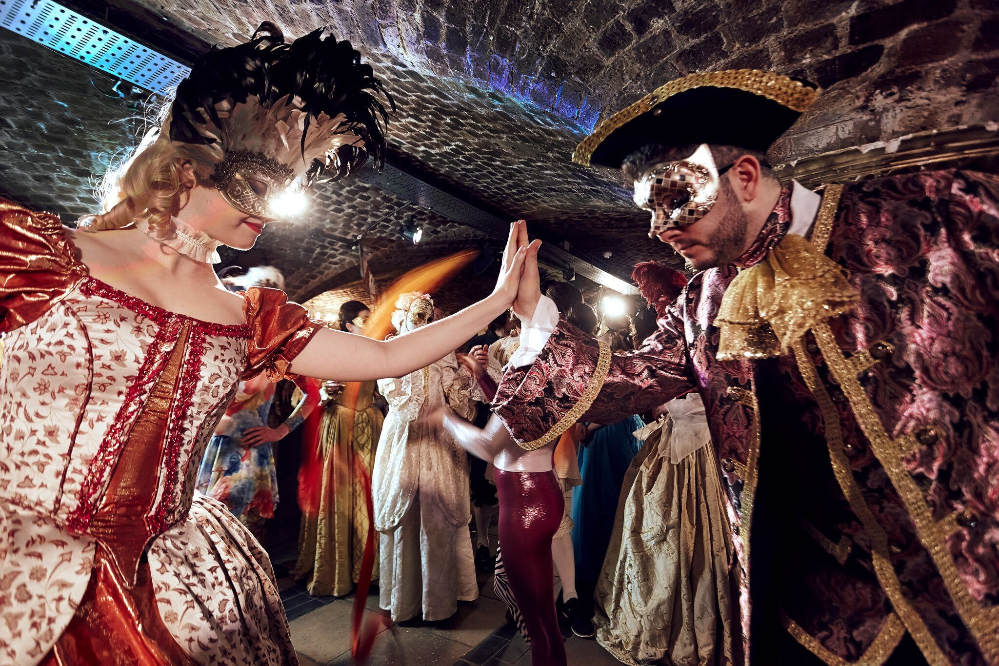 Masquerade at Ivory Vaults