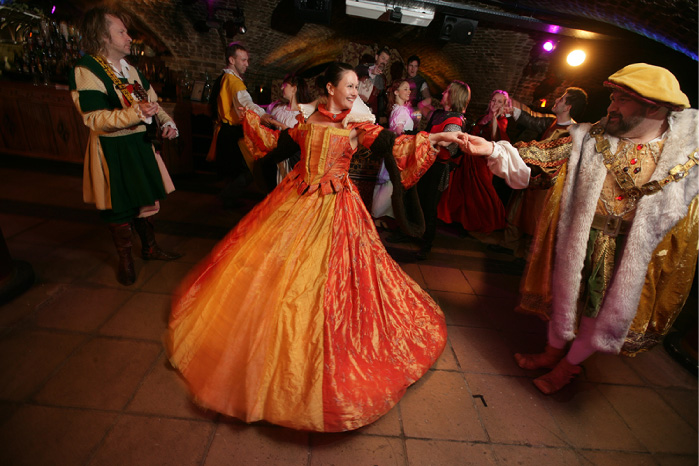 Medieval Dancing at the Ivory Vaults