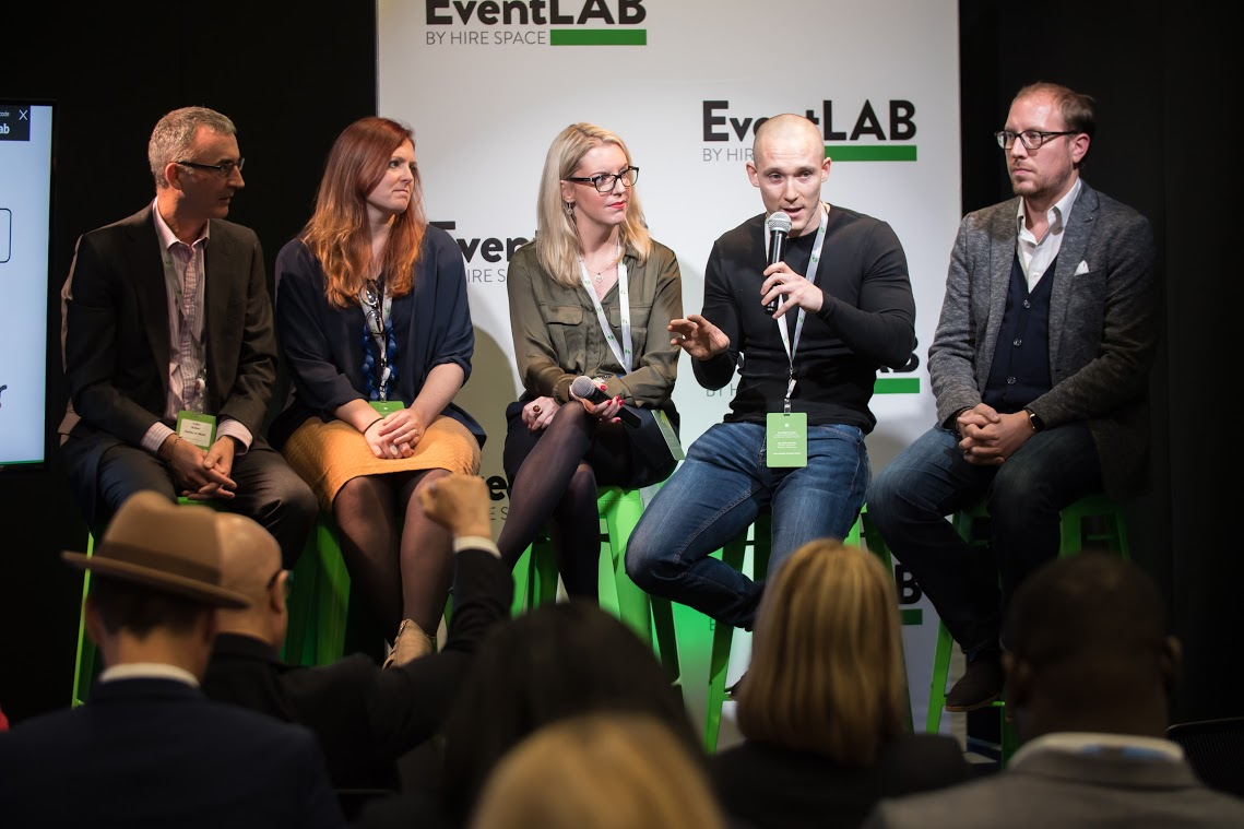 How to improve Wellbeing in events panel at EventLAB 2017