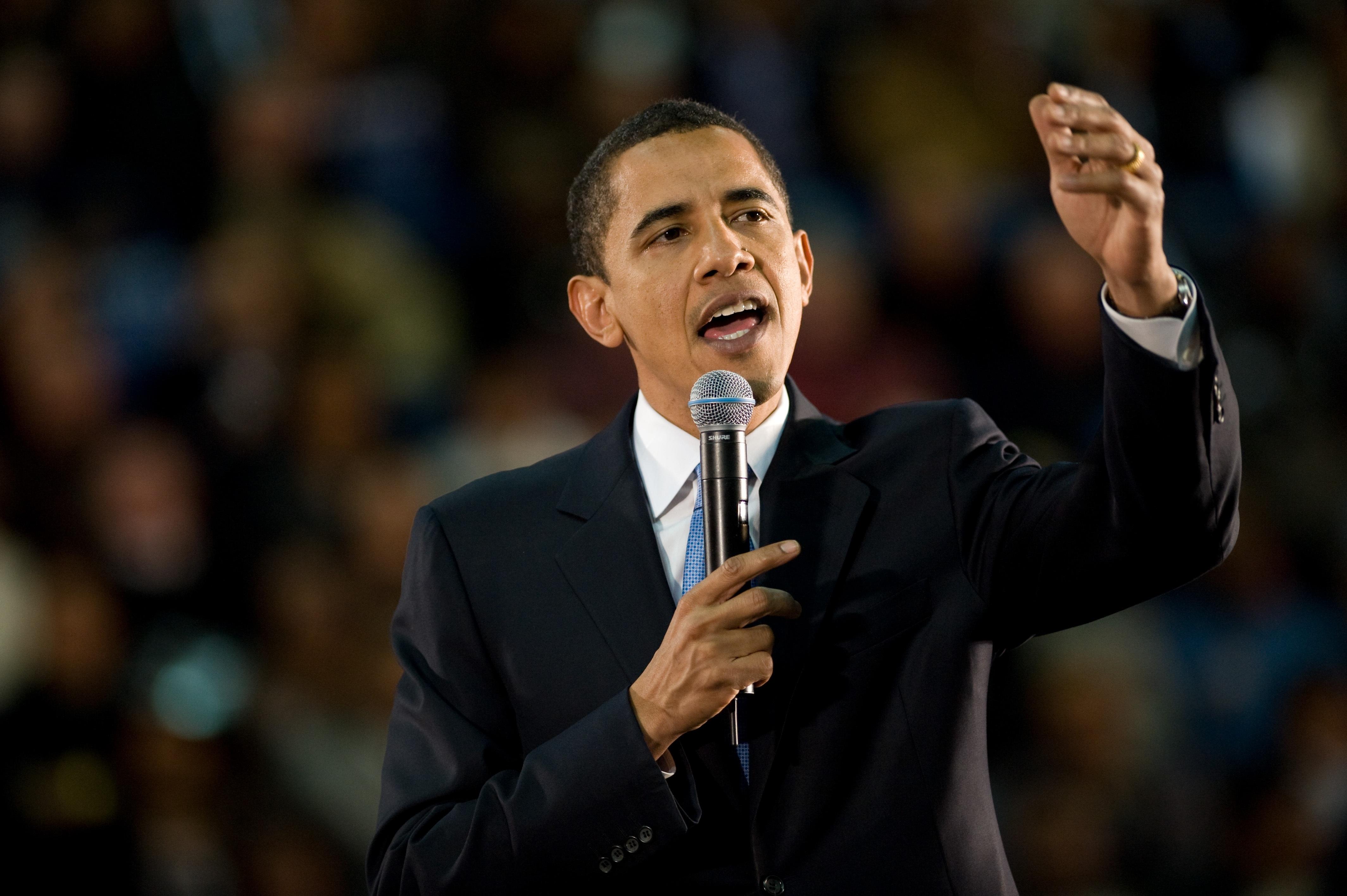 Obama Public Speaking