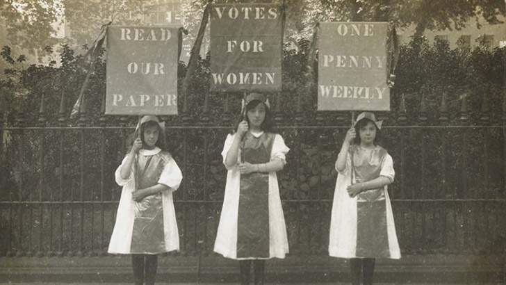 Votes for Women Exhibition at the Museum of London