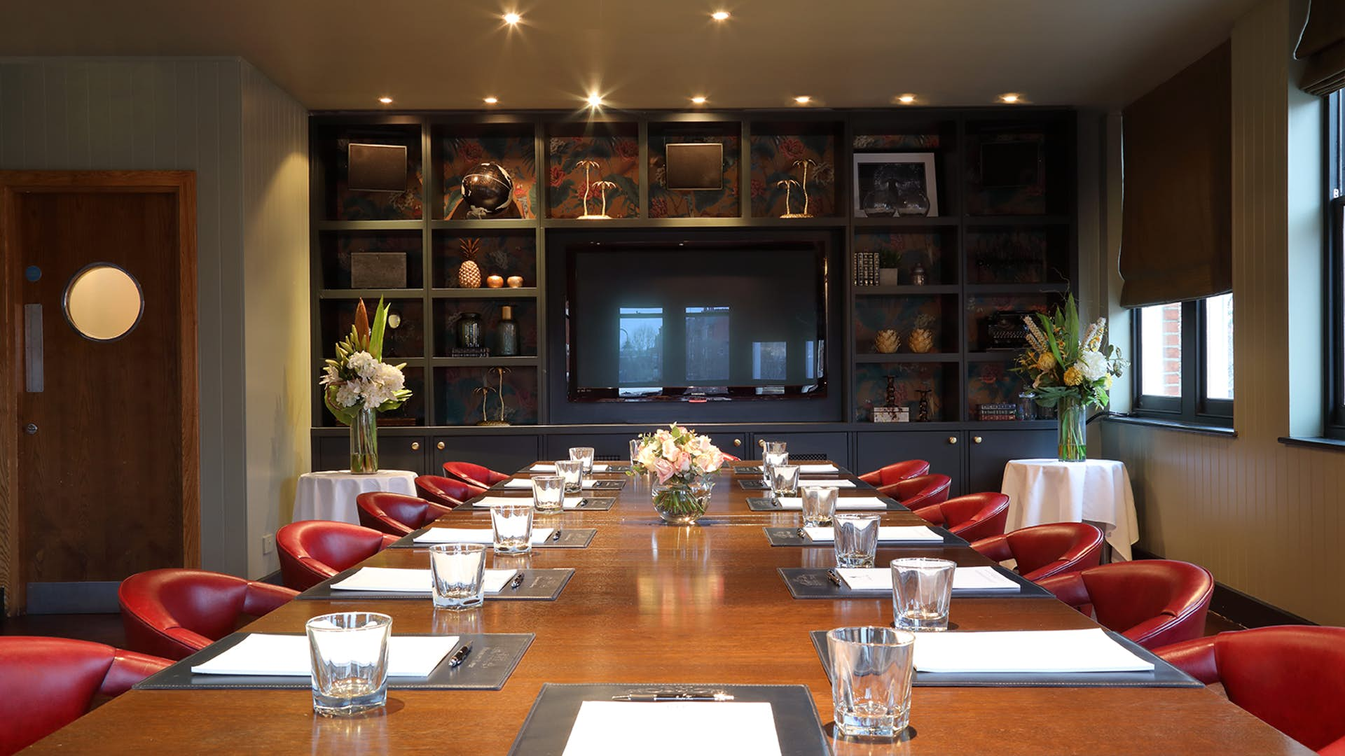 The Private Dining Room at Albert's at Beaufort House