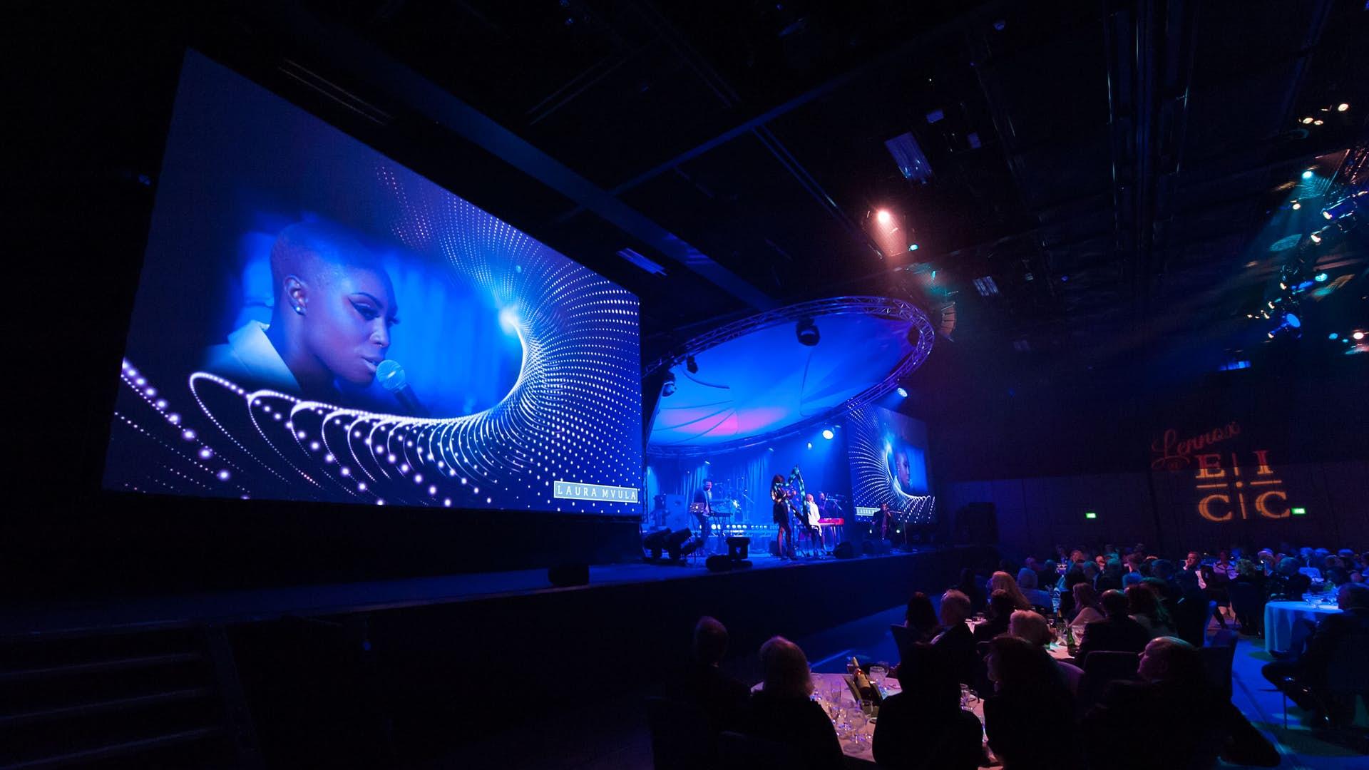 The Lennox Suite at Edinburgh International Conference Centre