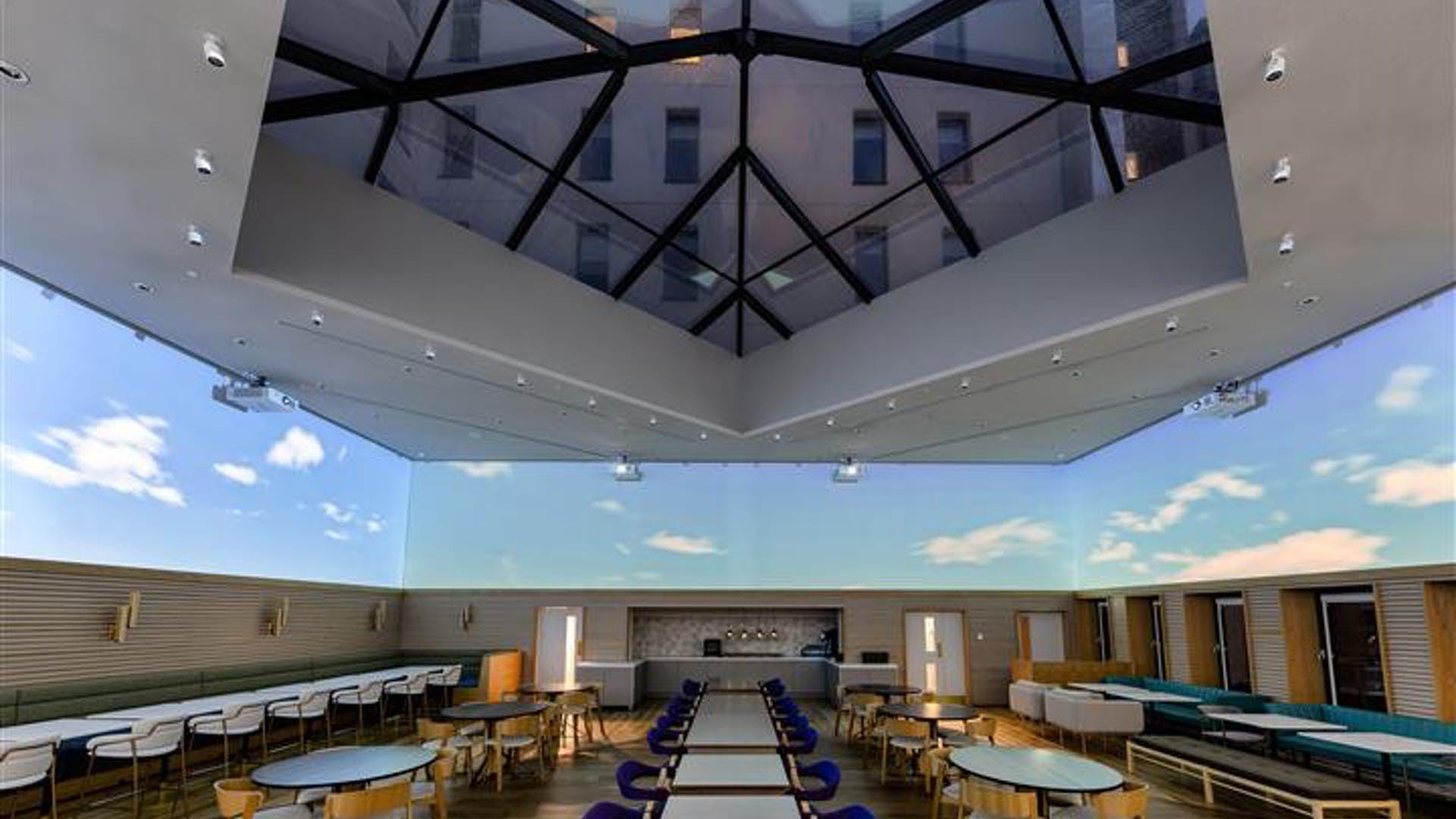 Imaginex 360° Screening Room at Yotel Edinburgh