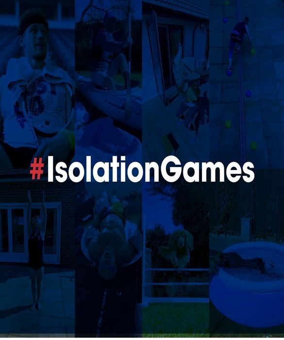 #IsolationGames has replaced the Olympic Games during the current pandemic
