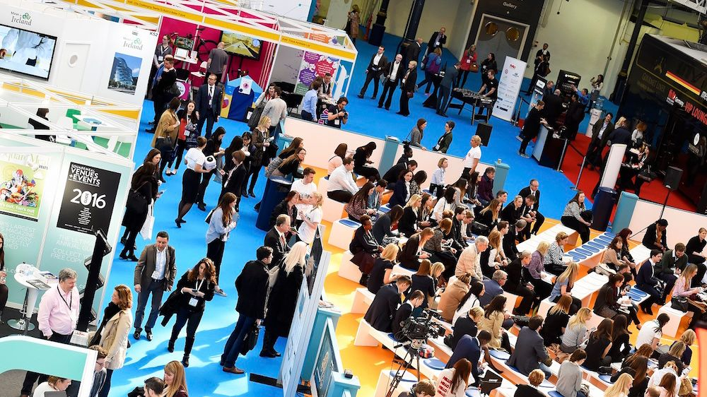 International Confex, a large trade show in the UK
