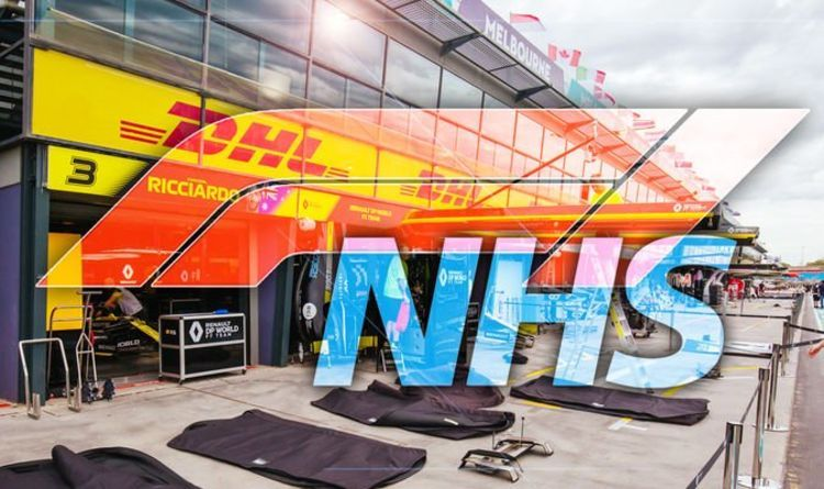 Formula 1's Project Pitlane is working to help the NHS in the fight against coronavirus. Image: getty