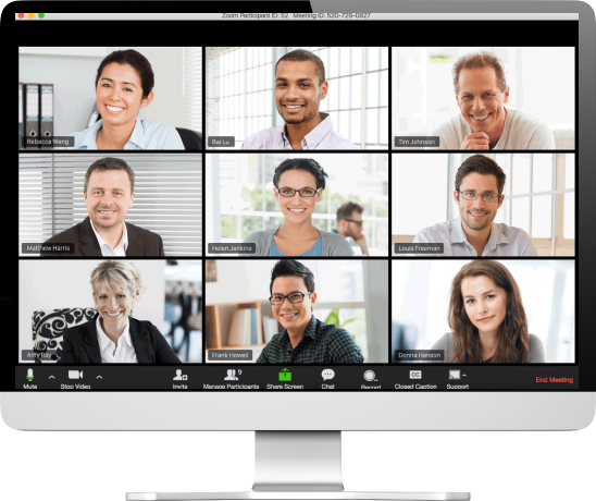Video calls are great for retaining team spirit and having some fun during isolation