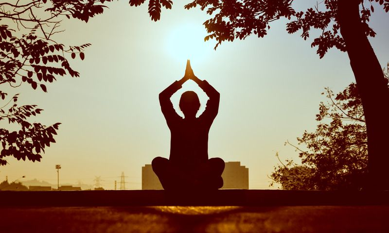 yoga and mindfulness is good for wellbeing