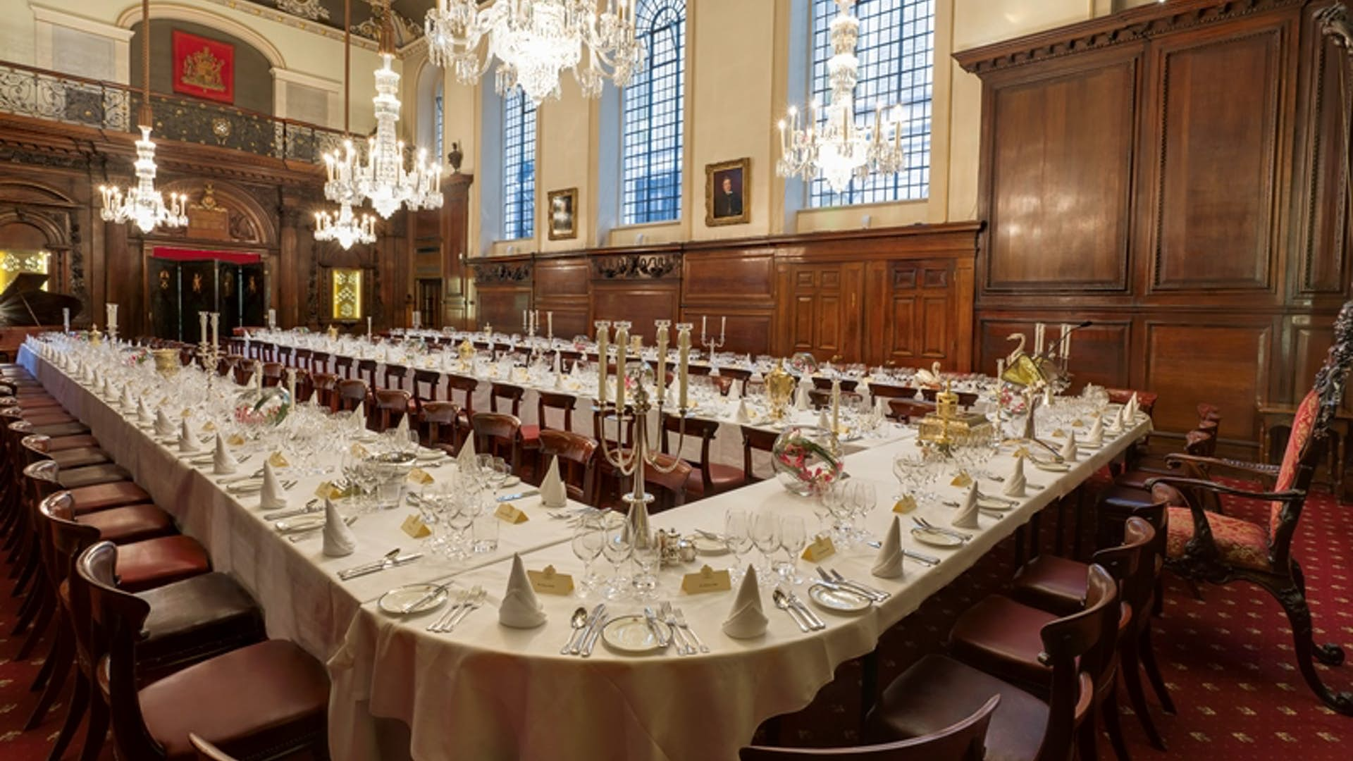The Livery Hall at Vintners' Hall