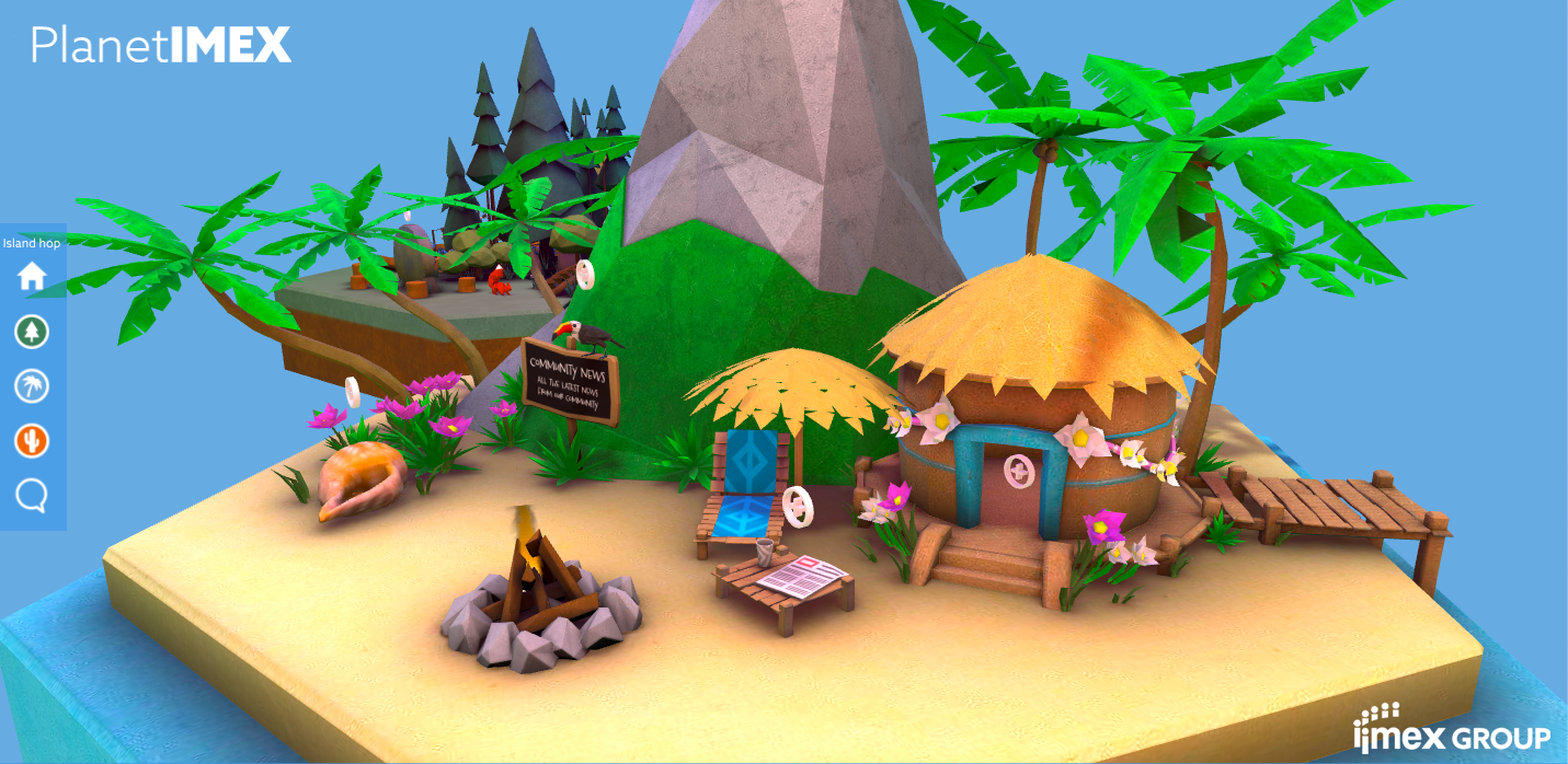 PlanetIMEX virtual islands