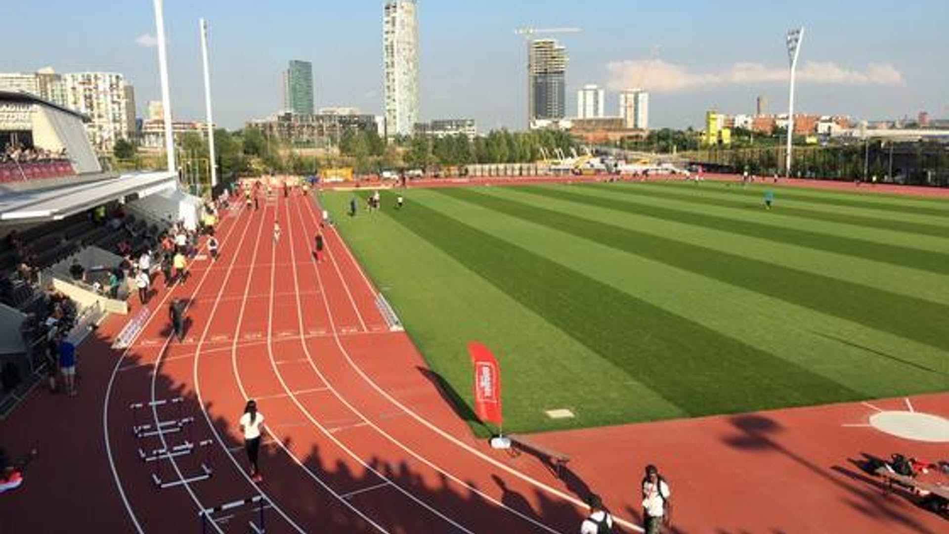 The Community Track at London Stadium