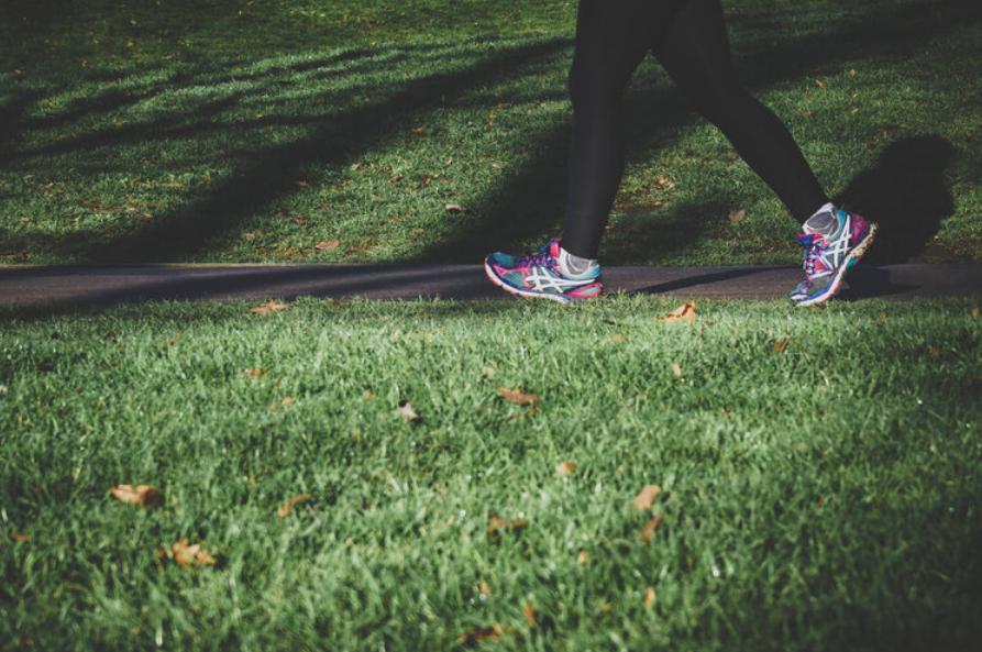 running inpark