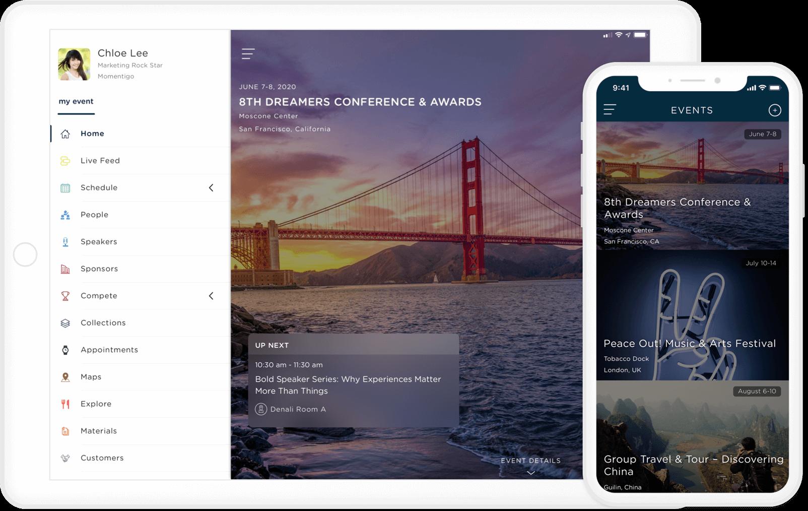 Cadence event platform