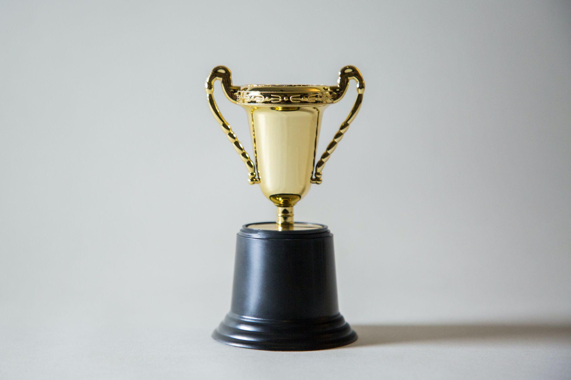 winning a prize