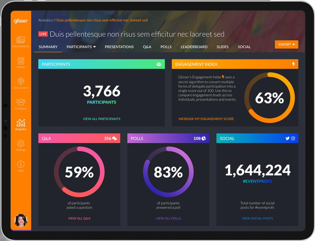 infographics on glisser