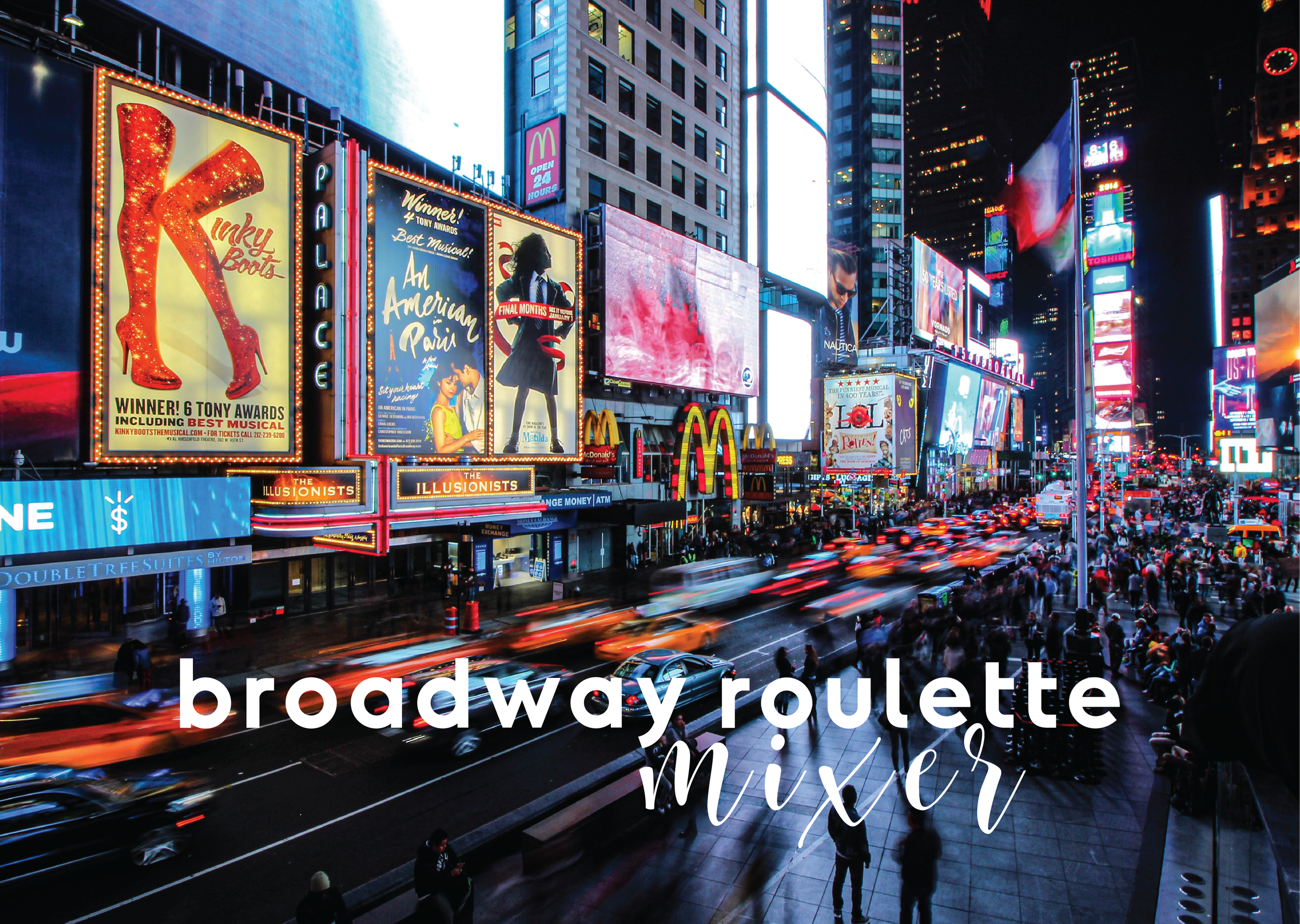broadway roulette virtual event