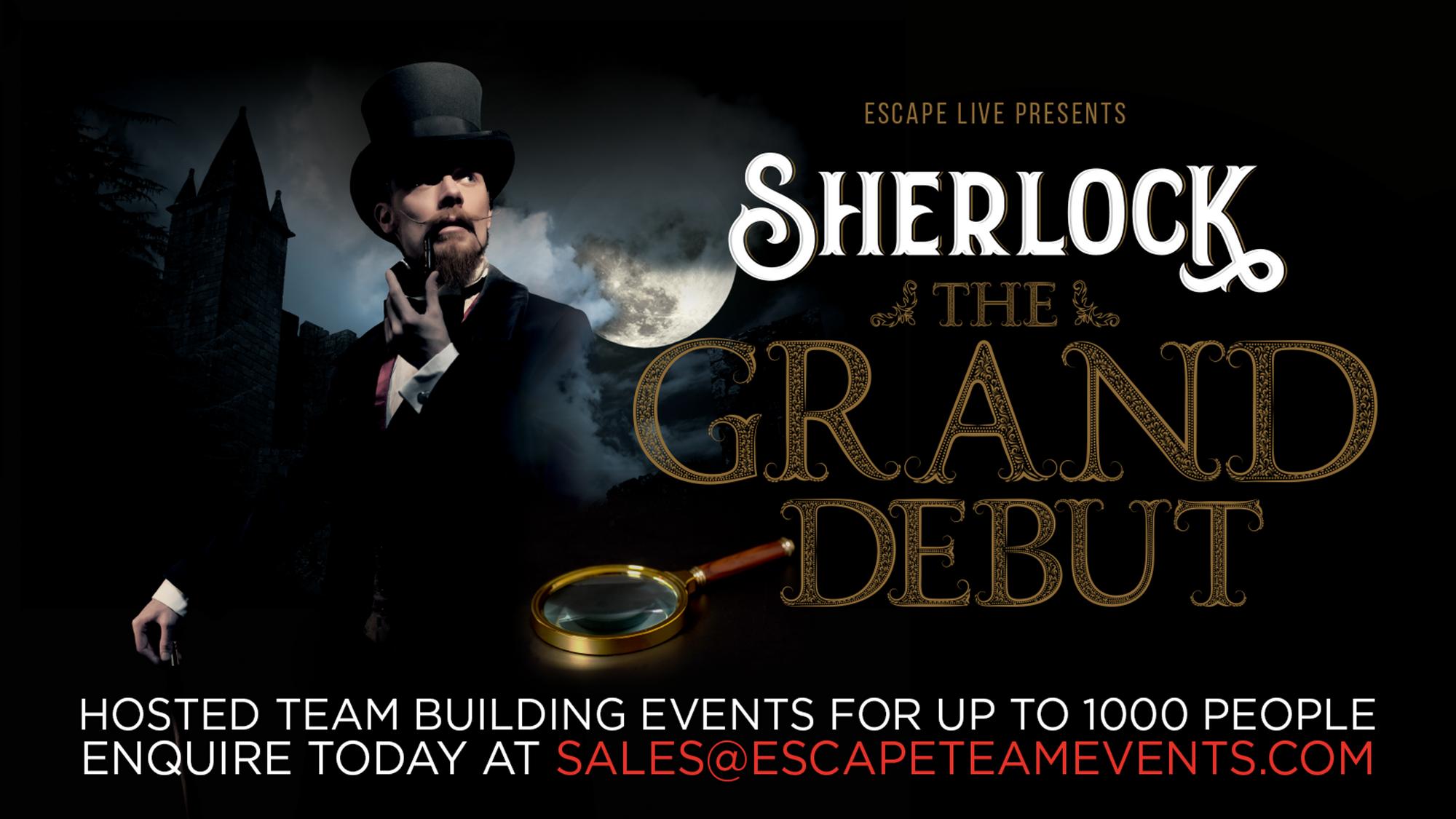 Sherlock holmes escape room virtual