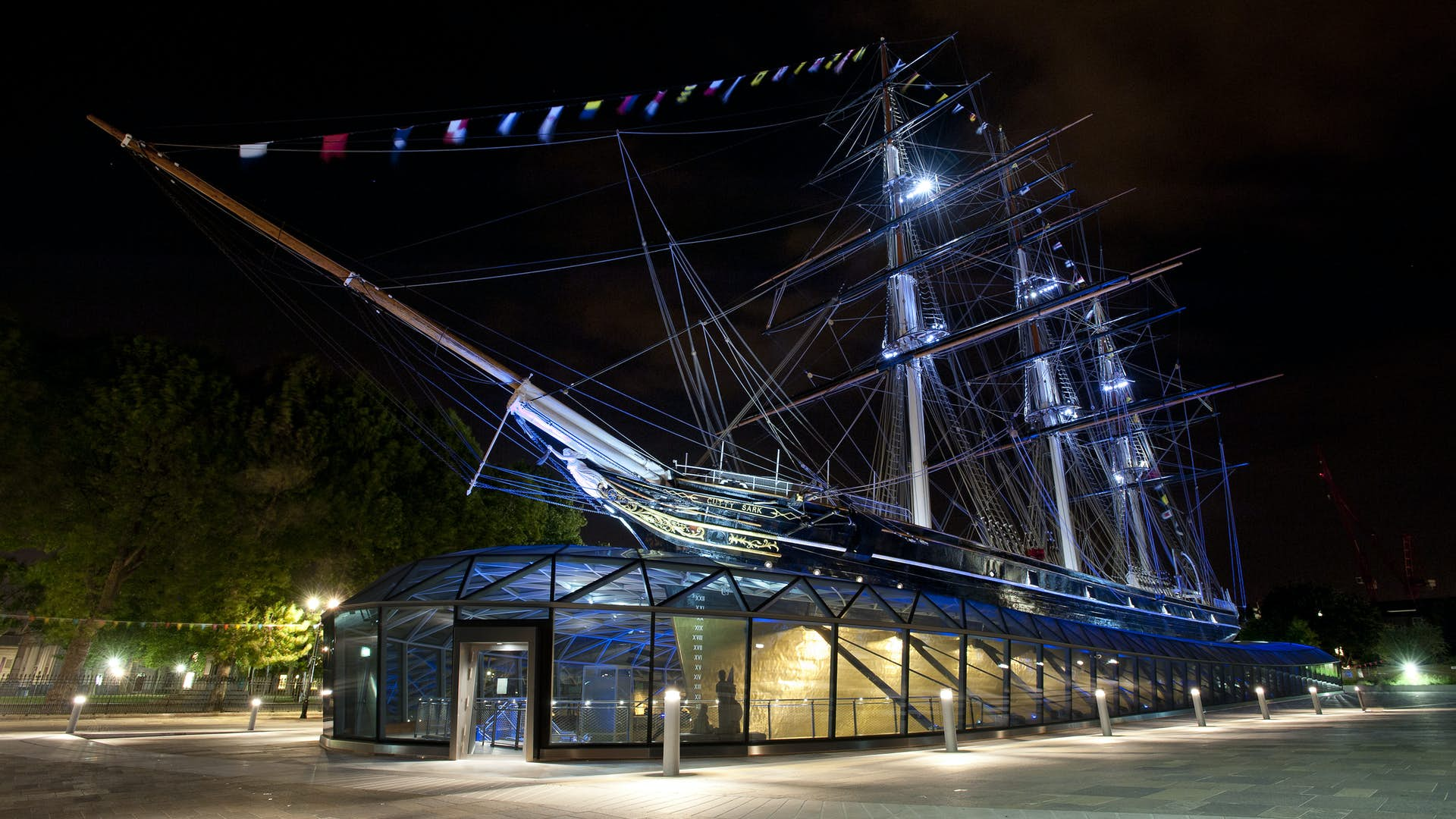 Cutty Sark ship and museum