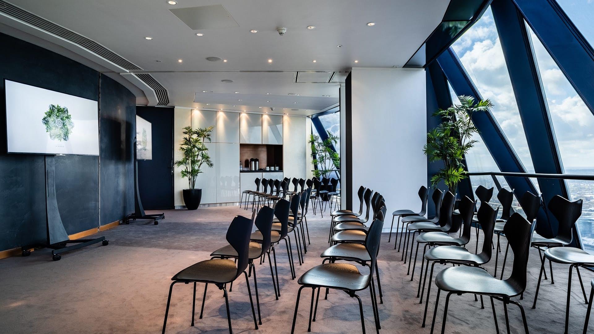 Meeting room in The Gherkin