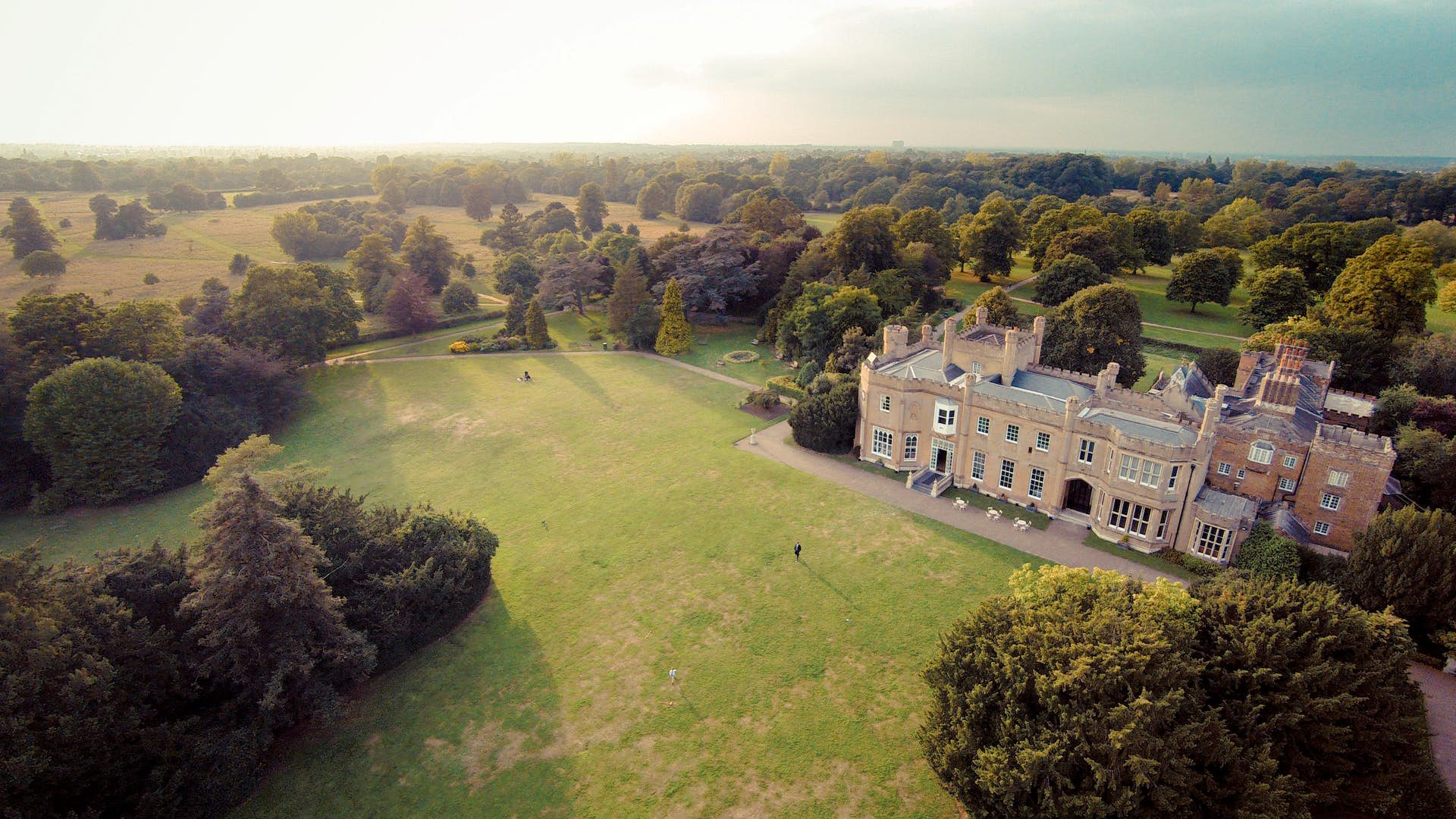 View of Nonsuch Mansion