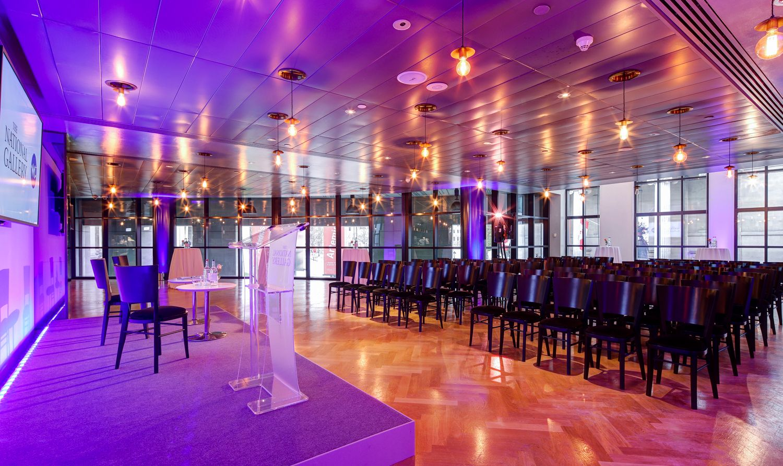 Trafalgar Room conference set up