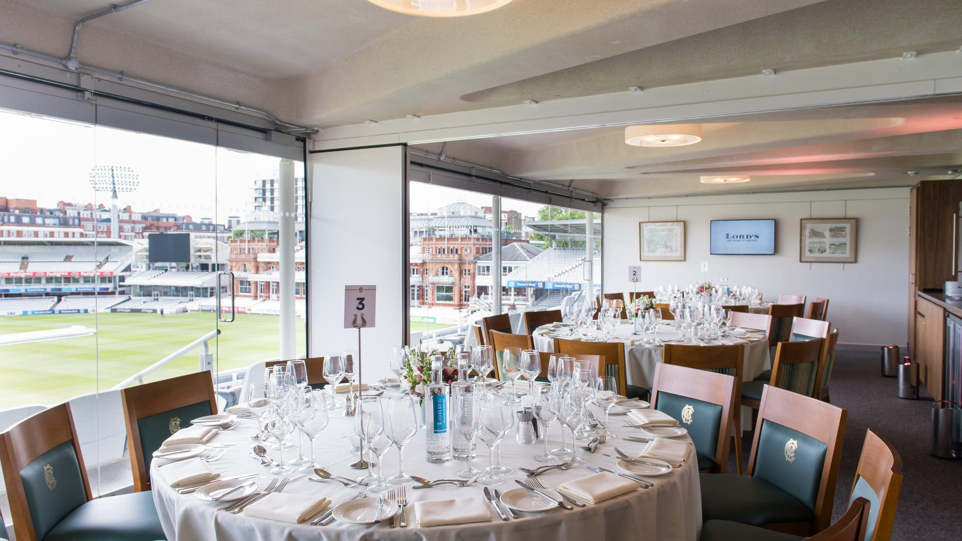 The President's Box at Lord's Cricket Ground